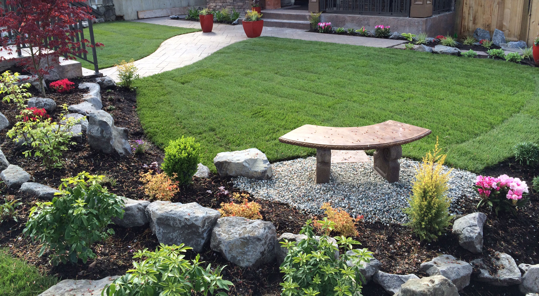 Landscape design james kelly landscape for Garden design landscaping company
